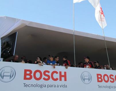 Bosch - camarote Fórmula Truck