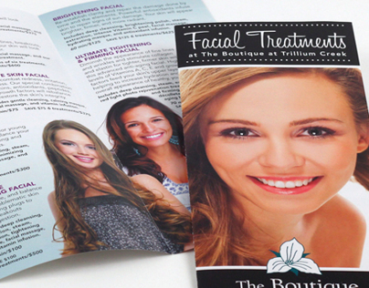 Brochures for The Boutique at Trillium Creek