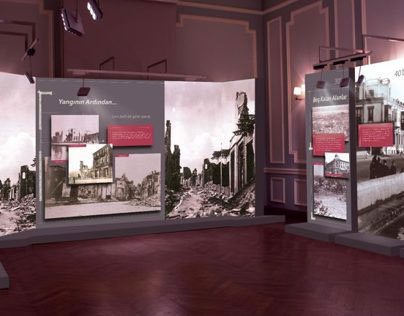 """İzmir Architecture and Culture"" Exhibition Design"
