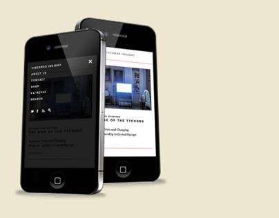 Visegrad Insight website