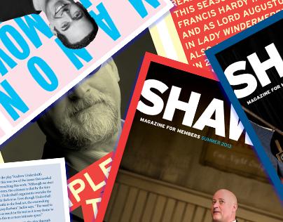 Shaw '13 Magazines