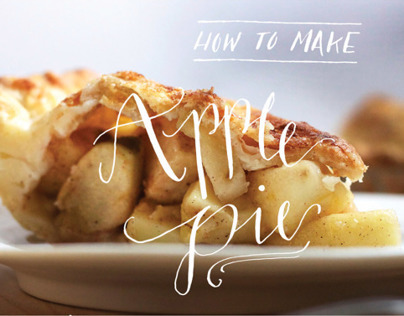 How to Make Apple Pie- An Infographic