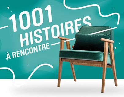 Bibliothèques de la MRC de La Jacques-Cartier // Design