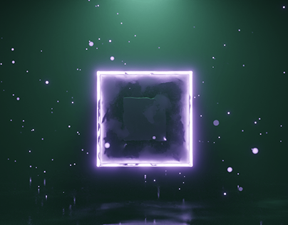 Abstract PBR cubes