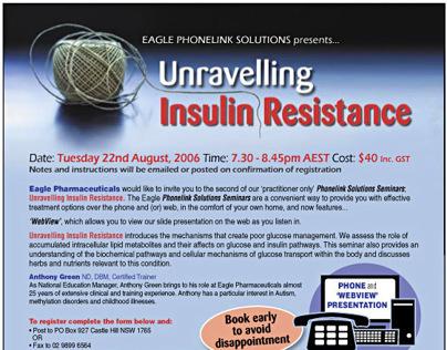 Eagle Pharmaceuticals – Insulin workshop artwork