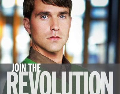 WebEx Revolution - Ads, Branding, Newsletter & LP