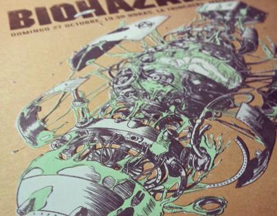 Biohazard Gig Poster