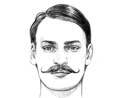 Nylon guys grooming illustrations