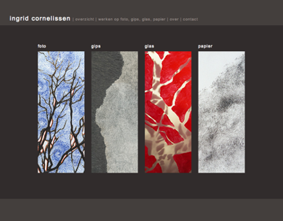 Artist website Ingrid Cornelissen
