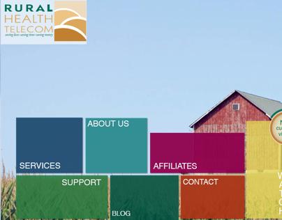Rural Health Telecom - Website