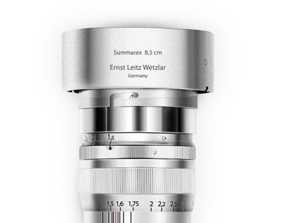 Leica M9 Titanium Illustration