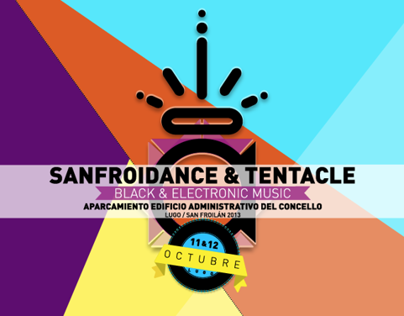 SANFROIDANCE & TENTACLE 2013