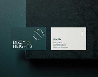 Dizzy Heights Branding