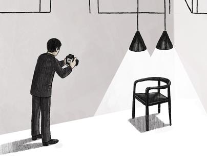 Wallpaper Magazine Editorial Illustrations