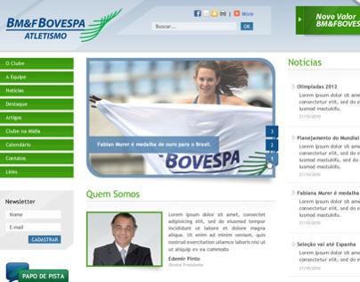 Clube de Atletismo - BM&F Bovespa