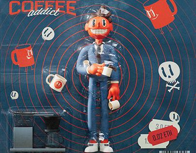 Coffe Addict #0001 ☕☕☕☕