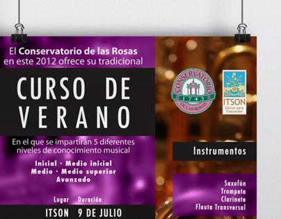 Conservatorio de las Rosas Obregón - Curso de Verano