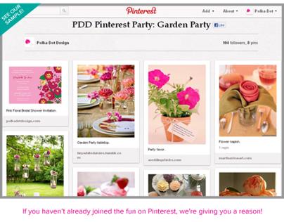 Pinterest Party Contest