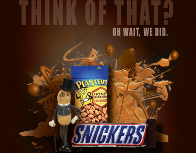 Planters + Snickers Mock Ad