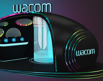 Wacom Exhibition Display _ Italy