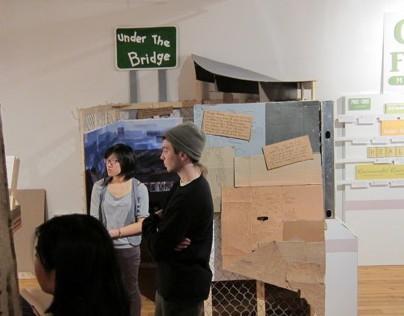 Exhibit Design: Homelessness Under The Bridge