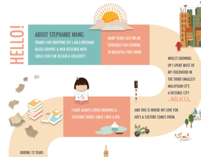About Me Infographic