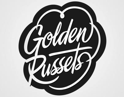Golden Russets Logo + Packaging