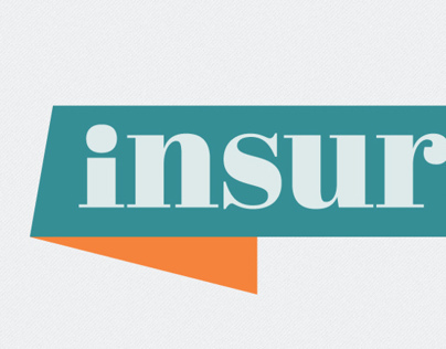 Insurance Magazine - logo, format and cover design.