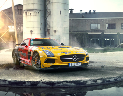 Mercedes-Benz SLS Blackseries