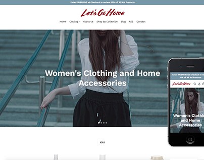 Women's Clothing Store UX/UI Design