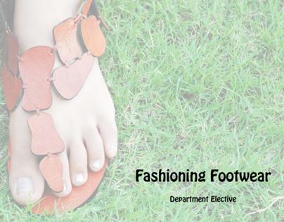 Fashioning Footwear - Department Elective
