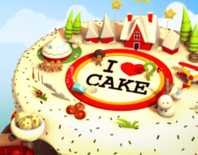 Travel & Living Channel - Fantasy Cake Promo