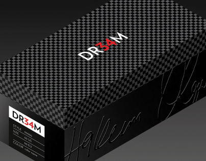 DR34M Packaging for Luxury Shoes