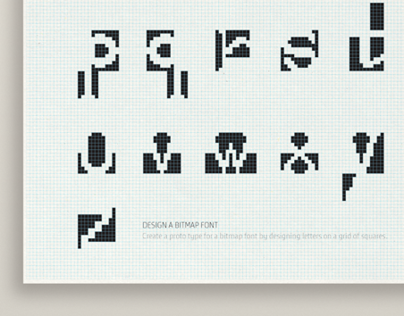 Experimental Bitmap Font