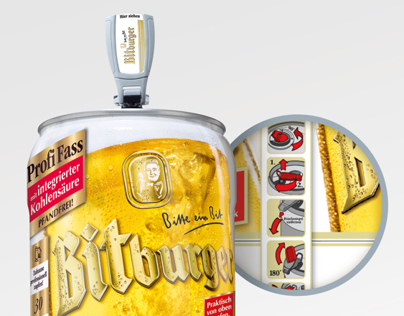 Bitburger KEG Icons