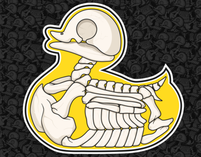 Xtreme Skeleton of a duck called YIDO