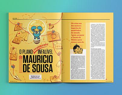 [Diagramação] O Plano infalível de Maurício de Souza