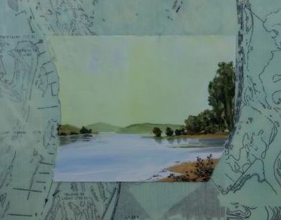 My new encaustic paintings: Minnesota Marine Art Museum
