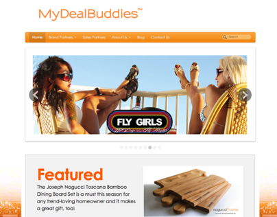 MyDealBuddies, e-Commerce Site, Marketing/Development
