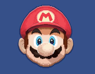 Super Mario Headshot