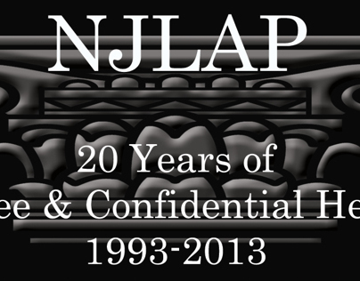 NJLAP 20th Anniversary Materials