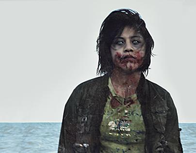 Zombie Magazine Spread