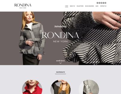 Rondina New York Responsive Website / UI Design