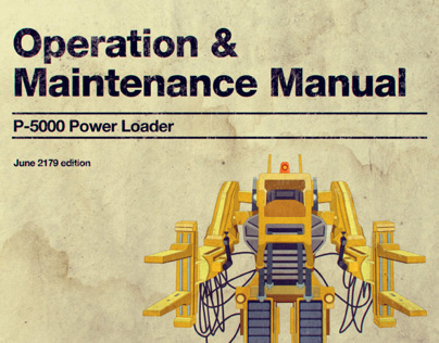 Power Loader Operation Manual