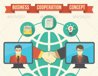 Business Cooperation Concept