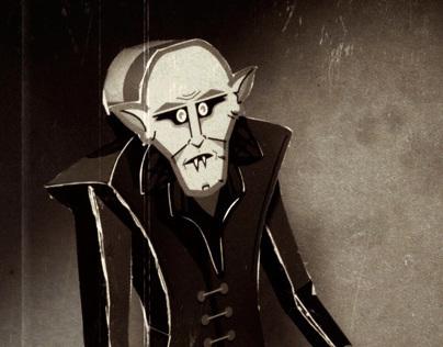 Paper Toy Nosferatu