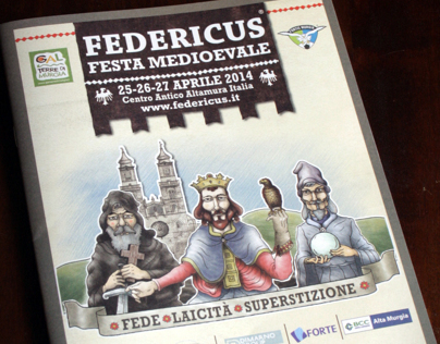 Federicus, Medieval Festival in Italy.