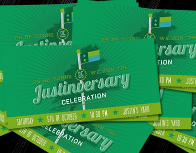 Retro Birthday Party Invite II
