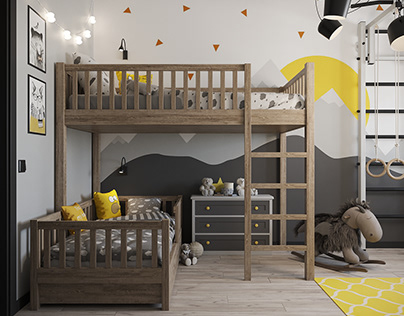 Child room (scandy)