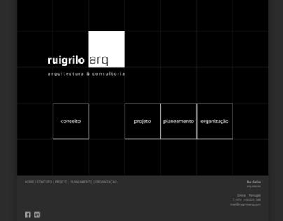 rui grilo architect website
